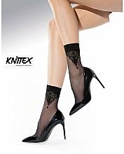 "Fragrances, Perfumes, Cosmetics Women Socks ""Guess"", 20 Den, naturel - Knittex"