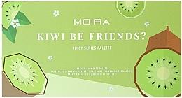 Fragrances, Perfumes, Cosmetics Eyeshadow Palette - Moira Kiwi Be Friends? Pressed Pigments Palette