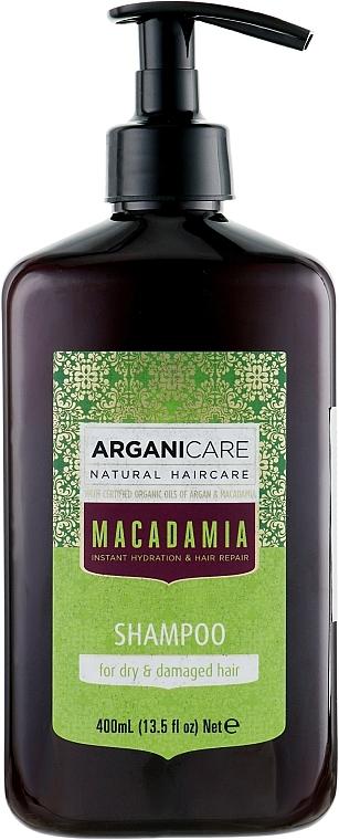 Dry and Damaged Hair Shampoo - Arganicare Macadamia Shampoo