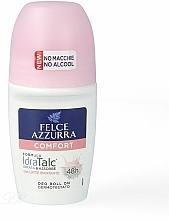 Fragrances, Perfumes, Cosmetics Roll-On Antiperspirant - Felce Azzurra Deo Roll-on IdraTalc Comfort