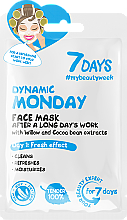 """Fragrances, Perfumes, Cosmetics After A Long Day's Work Face Mask """"Dynamic Monday"""" - 7 Days Dynamic Monday"""