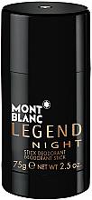 Fragrances, Perfumes, Cosmetics Montblanc Legend Night Stick - Deodorant