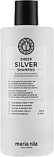 Fragrances, Perfumes, Cosmetics Anti-Yellow Shampoo for Colored Hair - Maria Nila Sheer Silver Shampoo