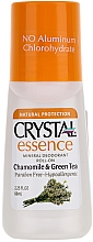 Fragrances, Perfumes, Cosmetics Chamomile and Green Tea Scented Roll-On Deodorant - Crystal Essence Deodorant Roll On