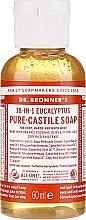 "Fragrances, Perfumes, Cosmetics Liquid Soap ""Eucalyptus"" - Dr. Bronner's 18-in-1 Pure Castile Soap Eucalyptus"