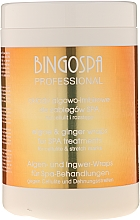 Fragrances, Perfumes, Cosmetics Anti Stretch Marks & Cellulite Concentrated Gel with Algae and Ginger - BingoSpa