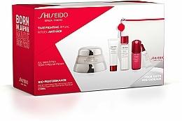 Fragrances, Perfumes, Cosmetics Set - Shiseido Bio-Performance Time Fighting Ritual (cr/50ml + conc/10ml + foam/15ml + softner/30ml + conc/3ml + bag)