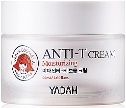 Fragrances, Perfumes, Cosmetics Oily and Problem Skin Moisturizing Face Cream - Yadah Anti-T Moisturizing Cream
