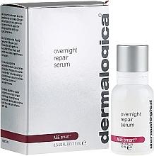 Fragrances, Perfumes, Cosmetics Night Repair Facial Serum - Dermalogica Age Smart Overnight Repair Serum