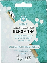 Fragrances, Perfumes, Cosmetics Fluoride-Free Mint Toothpaste Tablets - Ben&Anna Mint Toothpaste Tablets Without Fluoride