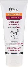 Fragrances, Perfumes, Cosmetics Softening Foot Cream with Urea 30% - Ava Laboratorium Foot Care Dermaline Softening Foot Cream With Urea 30%