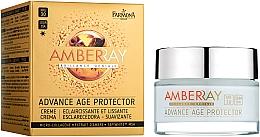 "Fragrances, Perfumes, Cosmetics Rejuvenating Day Face Cream ""Amber"" - Farmona Amberray Cream SPF30"