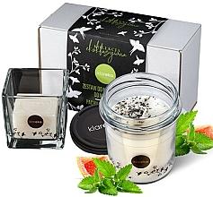 Fragrances, Perfumes, Cosmetics Mint Set - Klareko (candle/200g+soap)