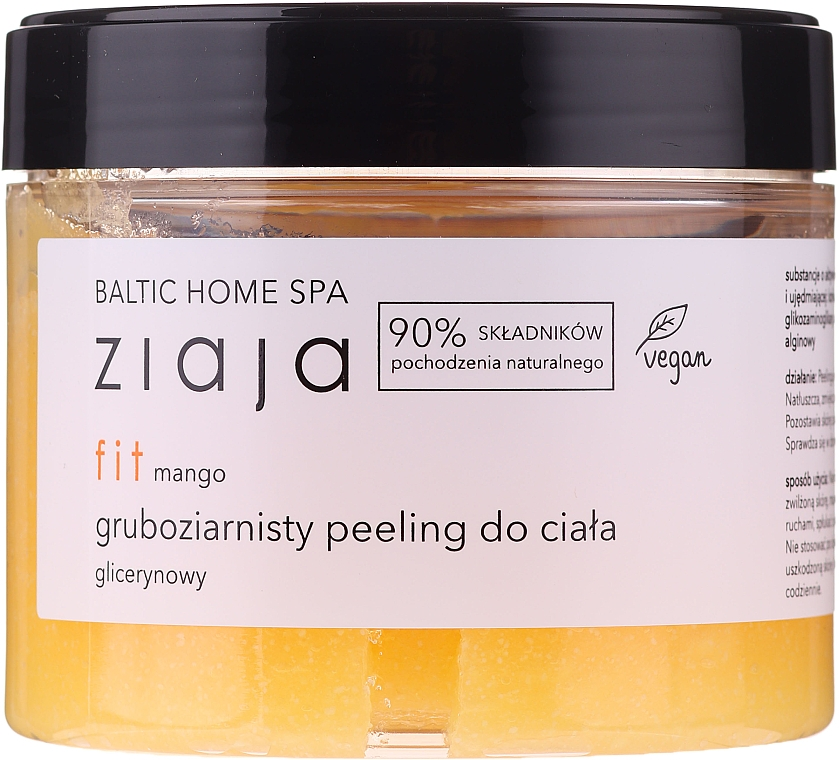 "Body Scrub ""Mango"" - Ziaja Baltic Home SPA Body Peeling"