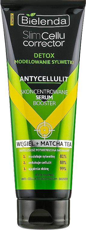 """Concentrated Modelling Serum """"Matcha"""" - Bielenda Slim Cellu Corrector Detox Serum Booster"""