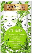 Fragrances, Perfumes, Cosmetics Eye Patches - Perfecta Eye Patch Aloe & Vitamins