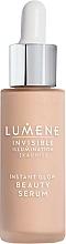 Fragrances, Perfumes, Cosmetics Tinting Fluid Serum - Lumene Invisible Illumination Instant Glow Beauty Serum
