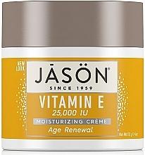 Fragrances, Perfumes, Cosmetics Face and Body Cream with Vitamin E - Jason Natural Cosmetics Age Renewal Vitamin E