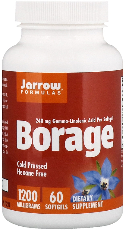 Dietary Supplement - Jarrow Formulas Borage GLA-240
