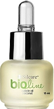 "Fragrances, Perfumes, Cosmetics Bio Cuticle Oil ""Coconut"" - Silcare Bio Line Oil Coconut"