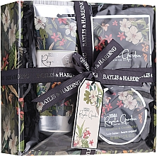 Fragrances, Perfumes, Cosmetics Set - Baylis & Harding Royale Garden Verbena & Chamomile (sh/cr/130ml + soap/150g + b/butter/100ml)