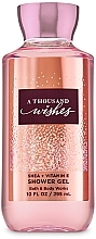 Fragrances, Perfumes, Cosmetics Bath and Body Works A Thousand Wishes Shower Gel - Shower Gel