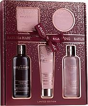 Fragrances, Perfumes, Cosmetics Set - Baylis & Harding Cranberry Martini Limited Edition Set (sh/gel/300ml + sh/cr/300ml + h/b/lot/130ml + soap/150g + b/butter/100ml)