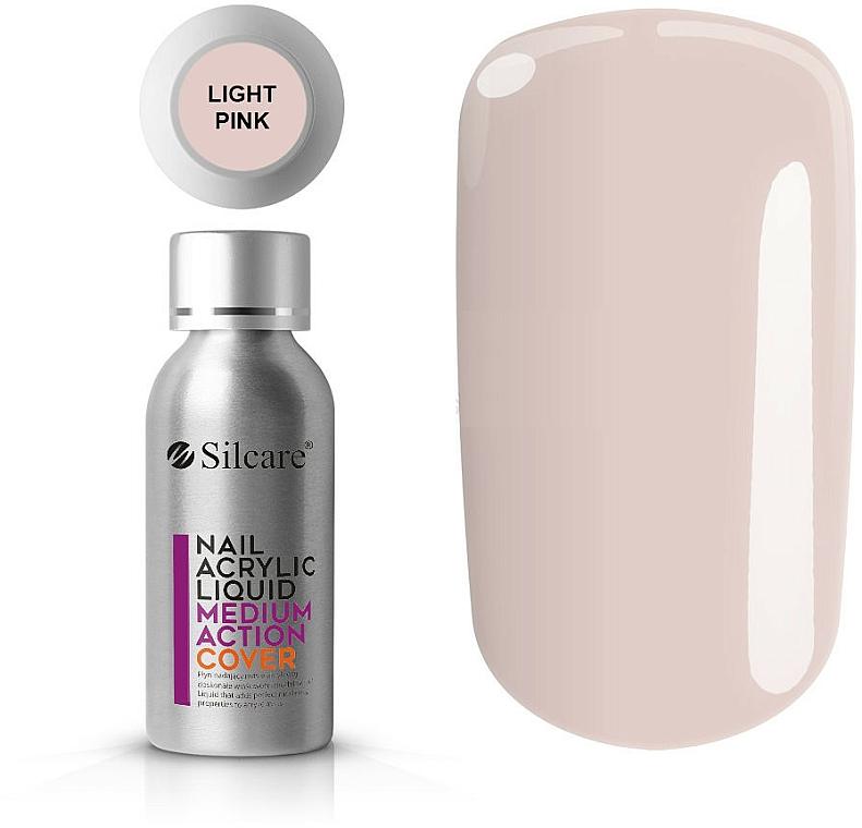 Nail Acrylic Liquid - Silcare Nail Acrylic Liquid Medium Action Cover