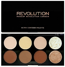 Fragrances, Perfumes, Cosmetics Face Corrector - Makeup Revolution Ultra Contour Palette