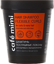"Fragrances, Perfumes, Cosmetics Hair Shampoo ""Obedient Strands"" - Cafe Mimi Shampoo"