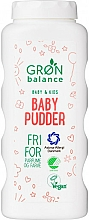 Fragrances, Perfumes, Cosmetics Baby Pudder - Gron Balance Baby & Kids Baby Pudder