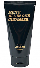Fragrances, Perfumes, Cosmetics Moisturizing Cleansing Foam-Scrub - Village 11 Factory Men's All In One Cleanser