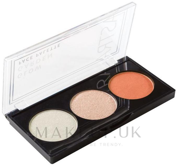 Makeup Palette - Astra Make-Up Glow Garden Face Palette — photo 01 - Peach Paradox