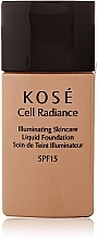Fragrances, Perfumes, Cosmetics Foundation - Kose Cell Radiance Illuminating Liquid Foundation