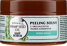 Fragrances, Perfumes, Cosmetics Body Salt Scrub with Organic Hemp Oil - GlySkinCare Hemp Seed Oil Salt Scrub