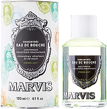 Fragrances, Perfumes, Cosmetics Mouthwash - Marvis Concentrate Strong Mint Mouthwash