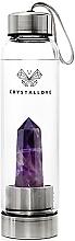 Fragrances, Perfumes, Cosmetics Amethyst Crystal Water Bottle, 550 ml - Crystallove