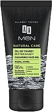 Fragrances, Perfumes, Cosmetics Cleansing Face Gel - AA Men Natural Care Cleansing Face Gel