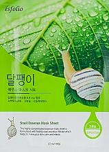 "Fragrances, Perfumes, Cosmetics Sheet Mask ""Snail Essence"" - Esfolio Snail Essence Mask Sheet"