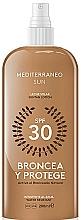 Fragrances, Perfumes, Cosmetics Sun Lotion - Mediterraneo Sun Suntan Lotion SPF30