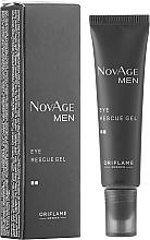 Fragrances, Perfumes, Cosmetics Tonic Eye Gel - Oriflame NovAge Men Eye Rescue Gel
