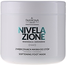 Fragrances, Perfumes, Cosmetics Softening Foot Mask - Farmona Professional Nivelazione Softening Foot Mask
