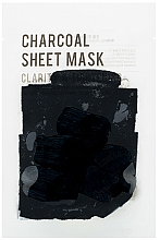 Fragrances, Perfumes, Cosmetics Charcoal Sheet Mask - Eunyul Purity Charcoal Sheet Mask