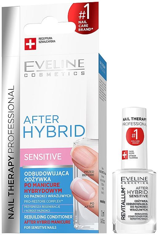 Nail Rebuilding Conditioner - Eveline Cosmetics After Hybrid Rebuilding Conditioner