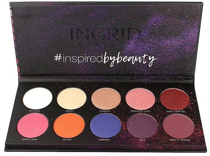 Eyeshadow Palette - Ingrid Cosmetics Colors Matt & Glam Palette