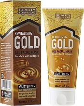 Fragrances, Perfumes, Cosmetics Deep Cleansing Mask - Beauty Formulas Gold Gel Facial Mask