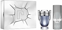 Fragrances, Perfumes, Cosmetics Paco Rabanne Invictus - Set (edt/100ml + deo/spr/150ml)