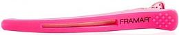 Fragrances, Perfumes, Cosmetics Elastic Sectioning Hair Clip, pink - Framar Elastic Sectioning Hair Clips
