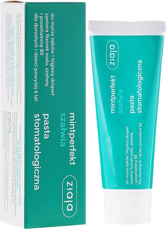 Toothpaste - Ziaja Mintperfect