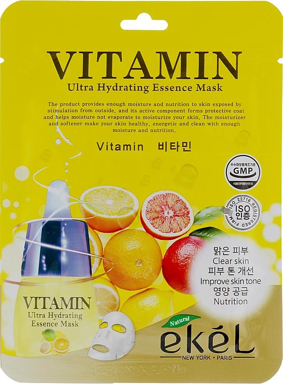 Vitamin Complex Sheet Mask - Ekel Vitamin Ultra Hydrating Mask